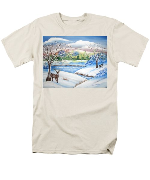 Natural Beauty Men's T-Shirt  (Regular Fit) by Luis F Rodriguez
