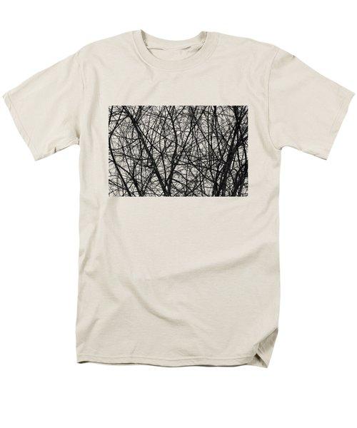 Natural Trees Map Men's T-Shirt  (Regular Fit) by Konstantin Sevostyanov