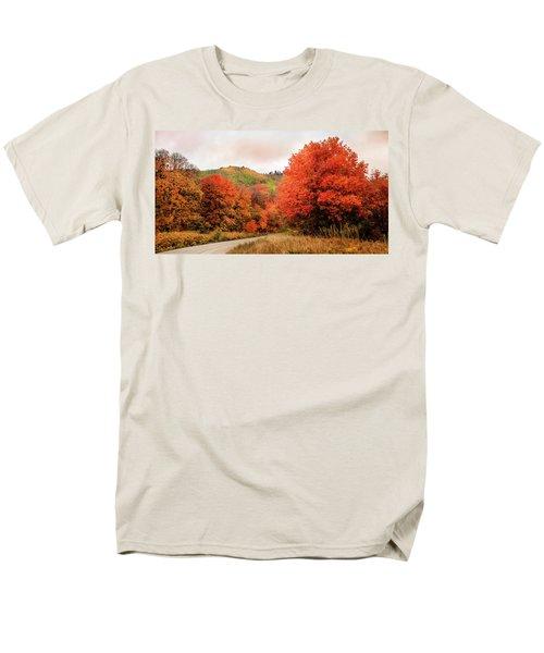 Nature's Palette Men's T-Shirt  (Regular Fit)
