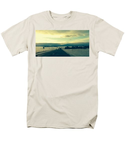 Near Hartsel Men's T-Shirt  (Regular Fit) by Christin Brodie