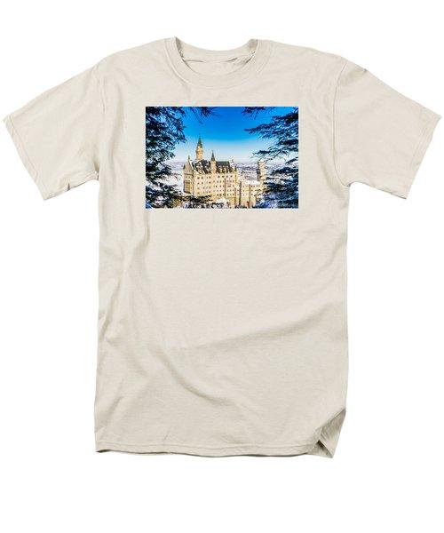 Neuschwanstein Castle Men's T-Shirt  (Regular Fit) by Alpha Wanderlust
