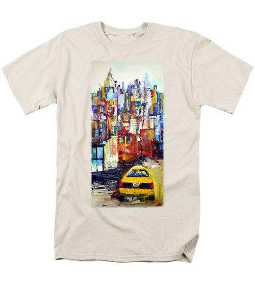 New York Cab Men's T-Shirt  (Regular Fit)