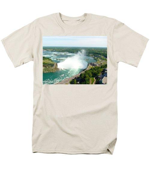 Men's T-Shirt  (Regular Fit) featuring the photograph Niagara Falls Ontario by Charles Kraus