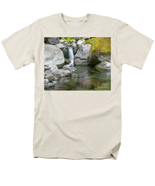 Nickel Creek 1019 Men's T-Shirt  (Regular Fit) by Chuck Flewelling