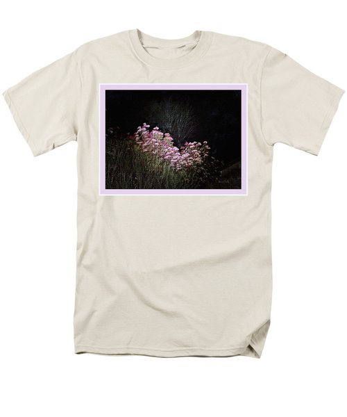 Men's T-Shirt  (Regular Fit) featuring the photograph Night Flowers by YoMamaBird Rhonda