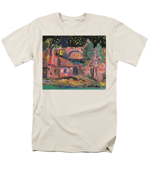 Night Landscape Men's T-Shirt  (Regular Fit) by Rita Fetisov
