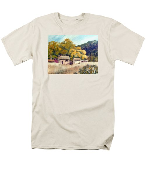 North Carolina Foothills Men's T-Shirt  (Regular Fit) by Jim Phillips