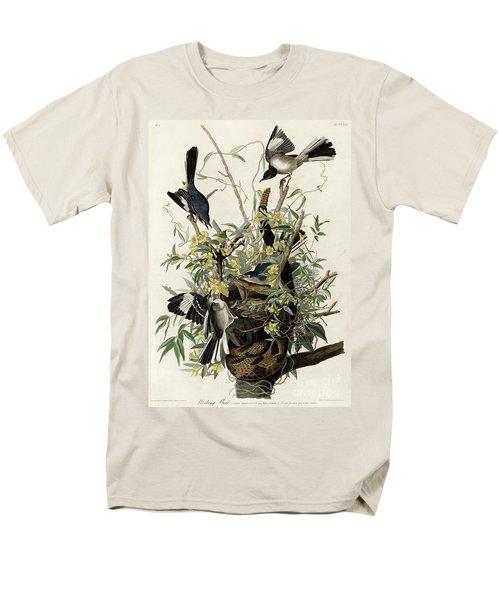 Northern Mockingbird Men's T-Shirt  (Regular Fit) by Granger