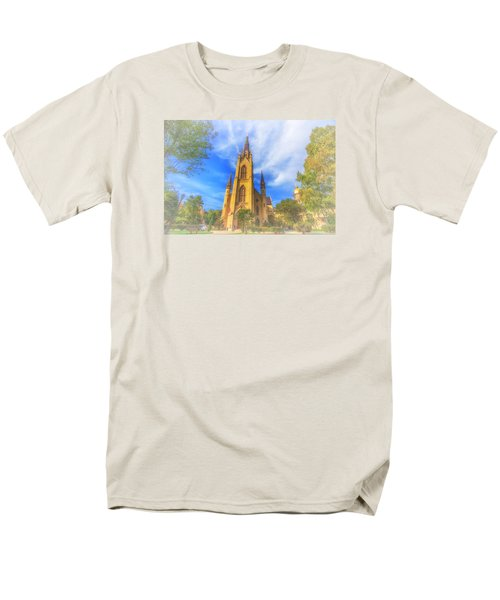 Notre Dame University 5 Men's T-Shirt  (Regular Fit) by David Haskett