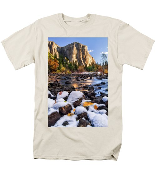 November Morning Men's T-Shirt  (Regular Fit) by Anthony Michael Bonafede