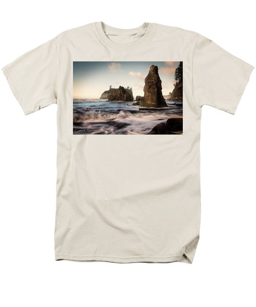 Ocean Spire Signature Series Men's T-Shirt  (Regular Fit) by Chris McKenna