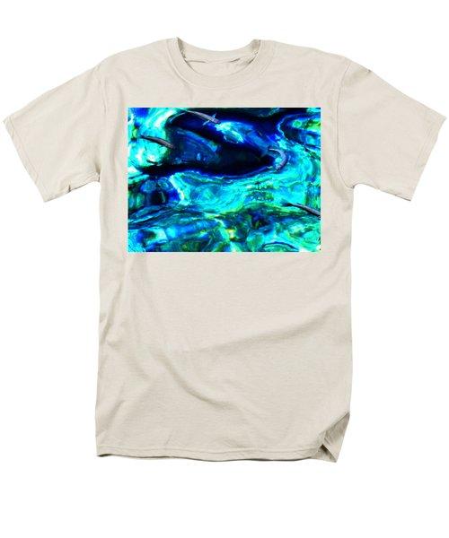 Men's T-Shirt  (Regular Fit) featuring the photograph Ocean Reflections  by Colette V Hera  Guggenheim
