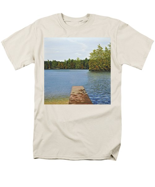 Off The Dock Men's T-Shirt  (Regular Fit) by Kenneth M  Kirsch