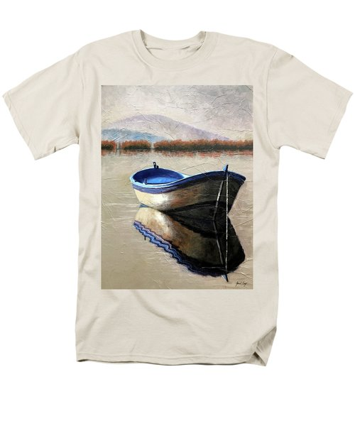 Old Boat Men's T-Shirt  (Regular Fit) by Janet King