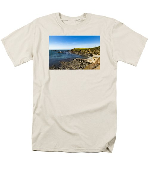 Men's T-Shirt  (Regular Fit) featuring the photograph Old Life Boat Station by Brian Roscorla