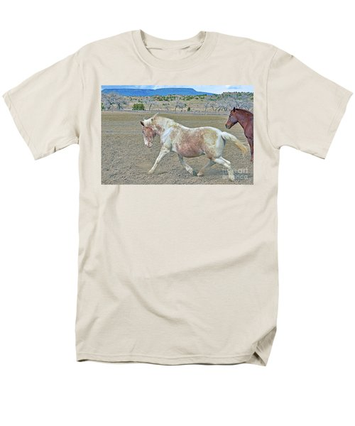 Men's T-Shirt  (Regular Fit) featuring the photograph Old Mare by Debby Pueschel