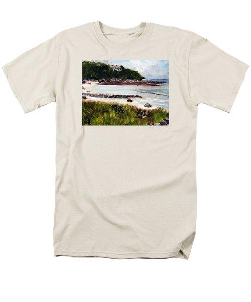 Old Silver Beach Falmouth Men's T-Shirt  (Regular Fit)