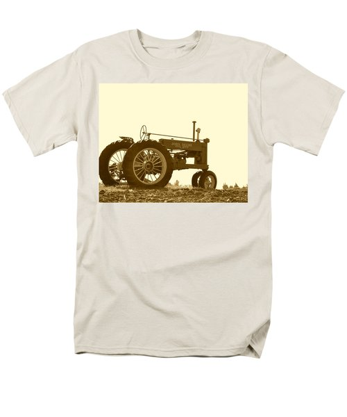 Old Tractor IIi In Sepia Men's T-Shirt  (Regular Fit) by JD Grimes