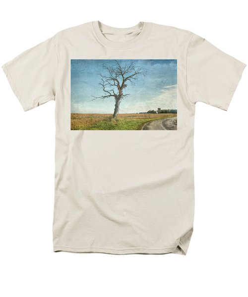 Old Tree  Men's T-Shirt  (Regular Fit) by Betty Pauwels