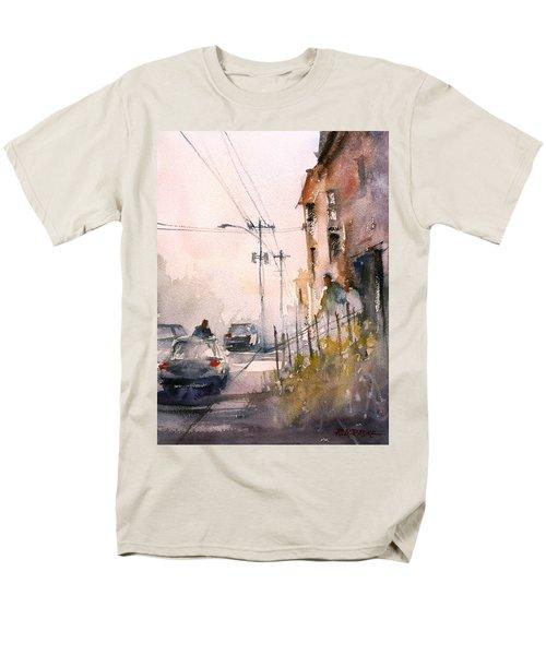 Old Wautoma Hotel Men's T-Shirt  (Regular Fit) by Ryan Radke