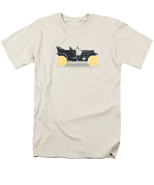 Oldtimer Historic Car With Lemon Wheels Men's T-Shirt  (Regular Fit) by Philipp Rietz
