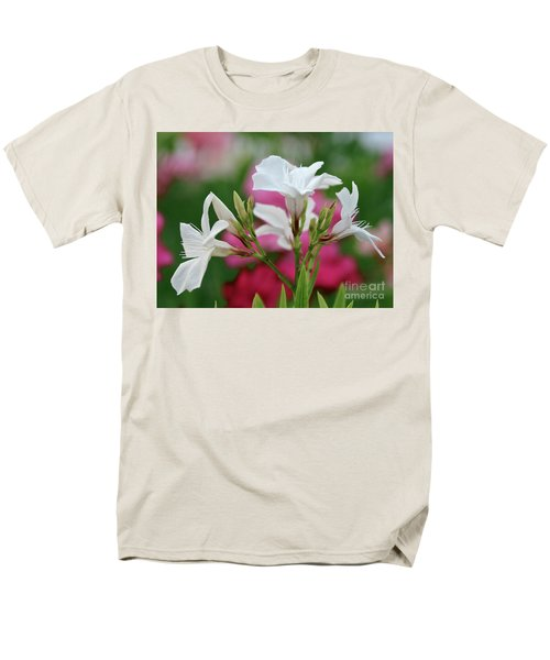 Oleander Casablanca 1 Men's T-Shirt  (Regular Fit) by Wilhelm Hufnagl