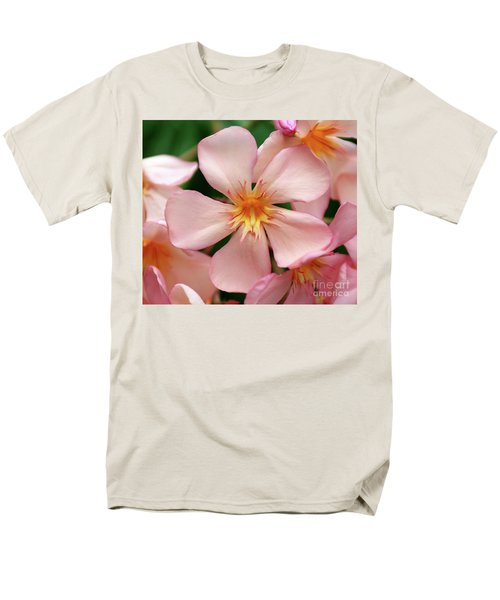 Men's T-Shirt  (Regular Fit) featuring the photograph Oleander Dr. Ragioneri 1 by Wilhelm Hufnagl