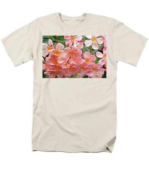 Men's T-Shirt  (Regular Fit) featuring the photograph Oleander Dr. Ragioneri 5 by Wilhelm Hufnagl