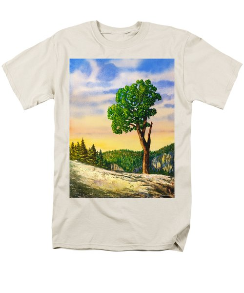 Olmsted Point Tree Men's T-Shirt  (Regular Fit) by Douglas Castleman