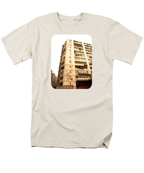 Men's T-Shirt  (Regular Fit) featuring the photograph On A Dozen Different Levels by Ethna Gillespie