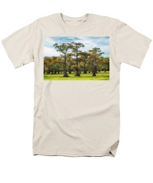 On Green Bayou Men's T-Shirt  (Regular Fit)