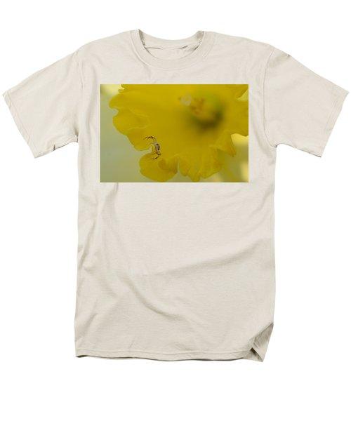 On The Edge Men's T-Shirt  (Regular Fit) by Janet Rockburn