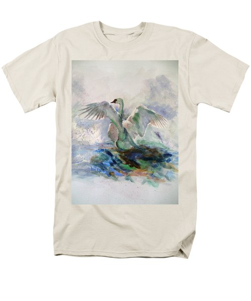 On The Water Men's T-Shirt  (Regular Fit) by Khalid Saeed