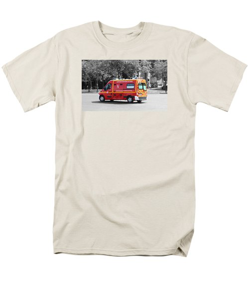 Men's T-Shirt  (Regular Fit) featuring the photograph On The Way To Help by RKAB Works