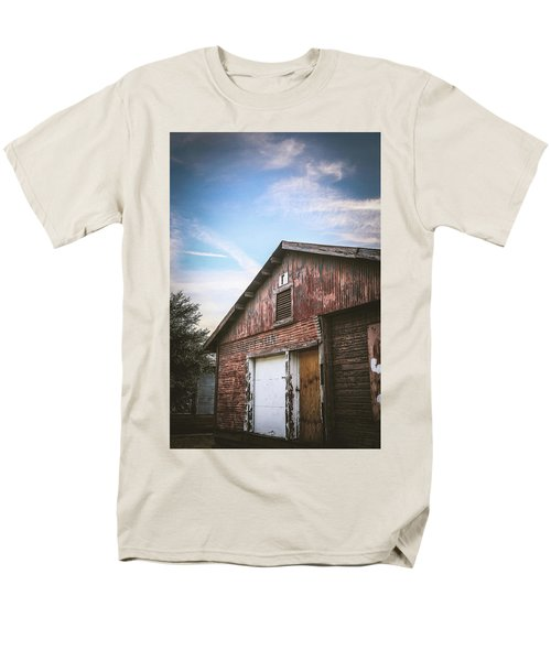 Men's T-Shirt  (Regular Fit) featuring the photograph Once Industrial - Series 1 by Trish Mistric