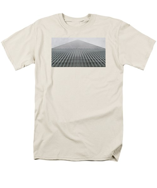One World Trade Men's T-Shirt  (Regular Fit) by Christopher Kirby