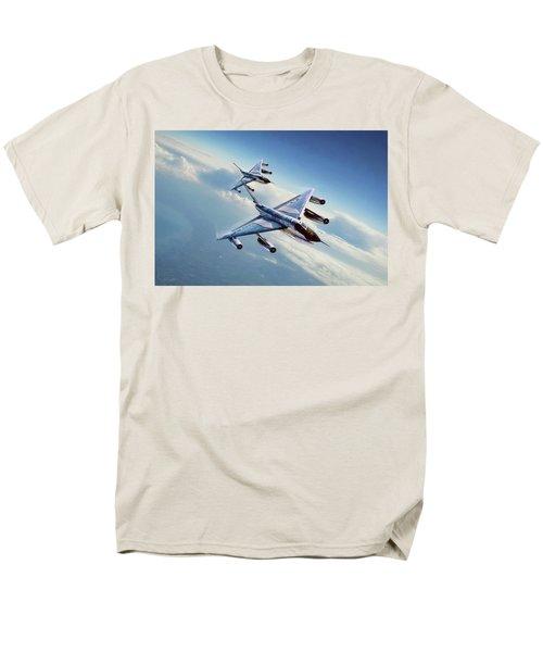 Men's T-Shirt  (Regular Fit) featuring the digital art Operation Heat Rise by Peter Chilelli