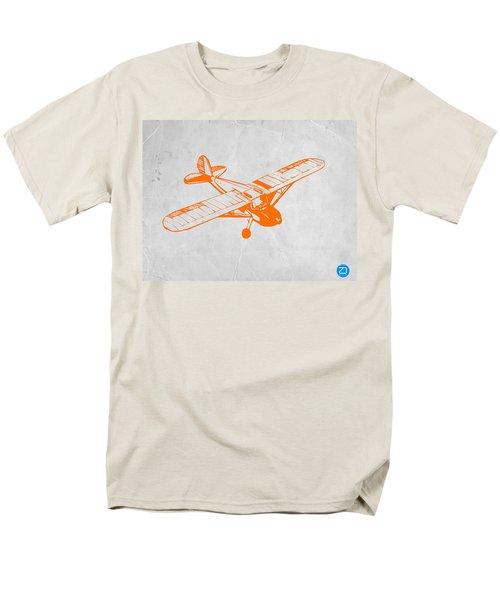 Orange Plane 2 Men's T-Shirt  (Regular Fit) by Naxart Studio