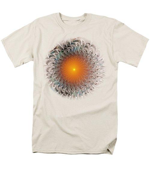 Orange Zone Men's T-Shirt  (Regular Fit)