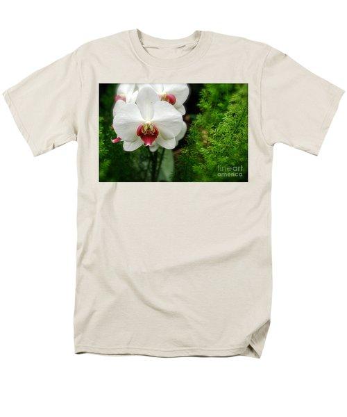 Orchid White Men's T-Shirt  (Regular Fit) by Brian Jones
