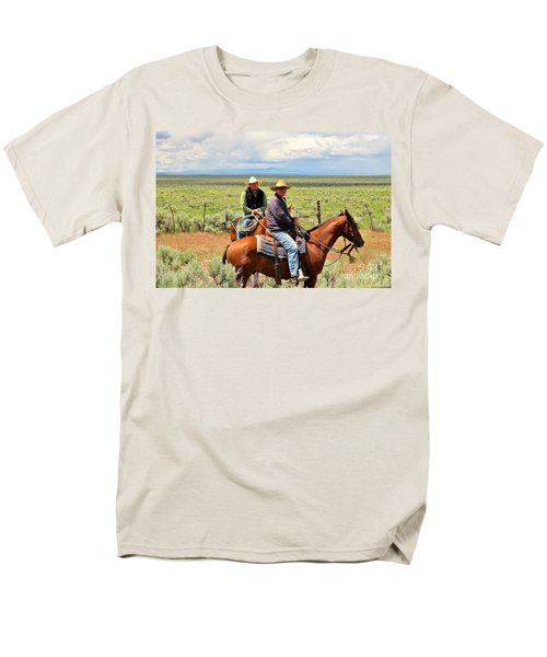 Oregon Cowboys Men's T-Shirt  (Regular Fit) by Michele Penner