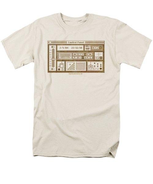 Original Mac Computer Control Panel Circa 1984 Men's T-Shirt  (Regular Fit) by Design Turnpike