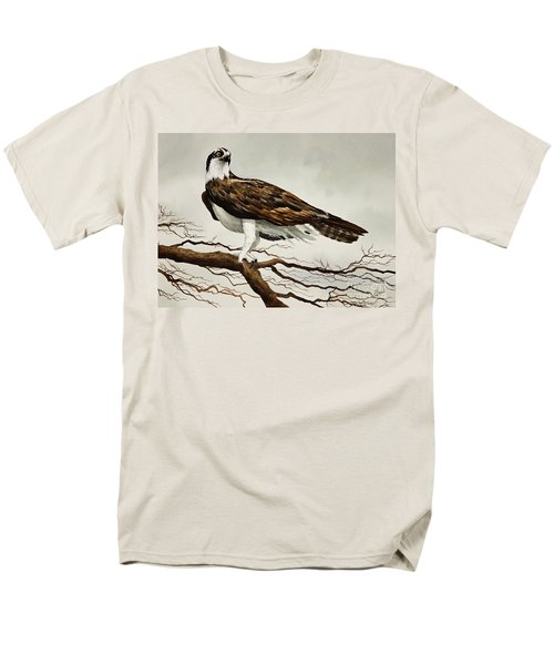 Osprey Sea Hawk Men's T-Shirt  (Regular Fit) by James Williamson