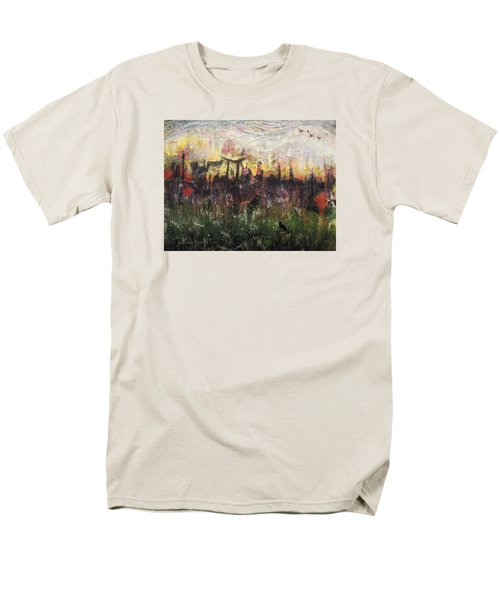 Other World 2 Men's T-Shirt  (Regular Fit) by Ron Richard Baviello