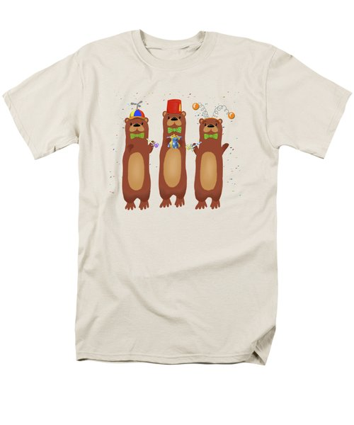 Otter Party And You Are Invited Men's T-Shirt  (Regular Fit) by Little Bunny Sunshine