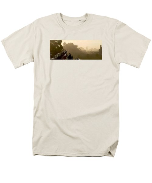 Out The Front Door Men's T-Shirt  (Regular Fit) by Steven Lebron Langston