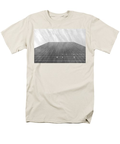 Men's T-Shirt  (Regular Fit) featuring the photograph Over The City by Valentino Visentini