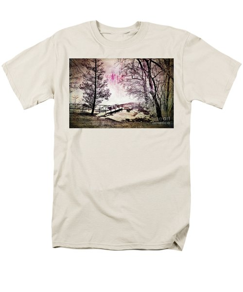 Men's T-Shirt  (Regular Fit) featuring the photograph Painted Trees by Judy Wolinsky