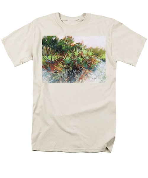 Palmetto Dance Men's T-Shirt  (Regular Fit) by Mary Hubley