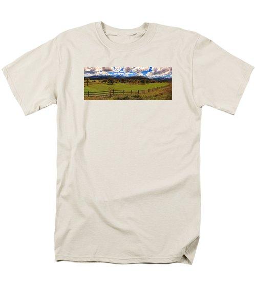View Of The San Juans Men's T-Shirt  (Regular Fit) by Rick Furmanek